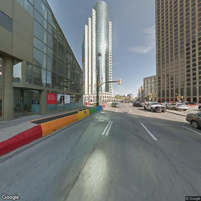 Street view of Winnipeg, MB