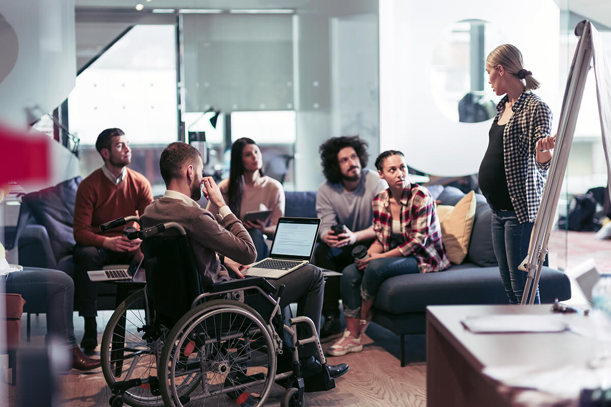 Companies with a diversity policy are more likely to hire people with disabilities.