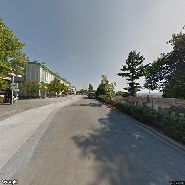 Street view of New Westminster, BC