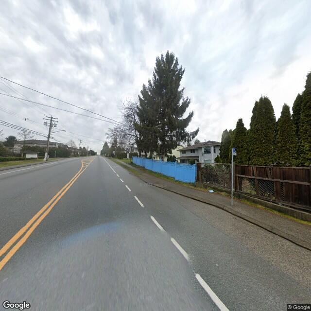 Street view of Surrey, BC