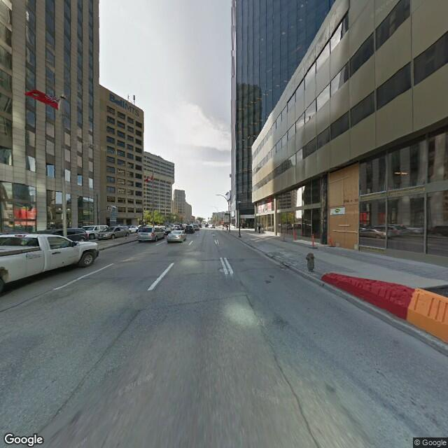 Street view of Winnipeg
