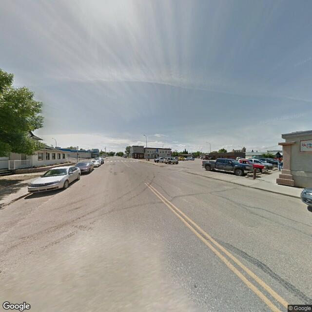 Street view of Battleford, SK
