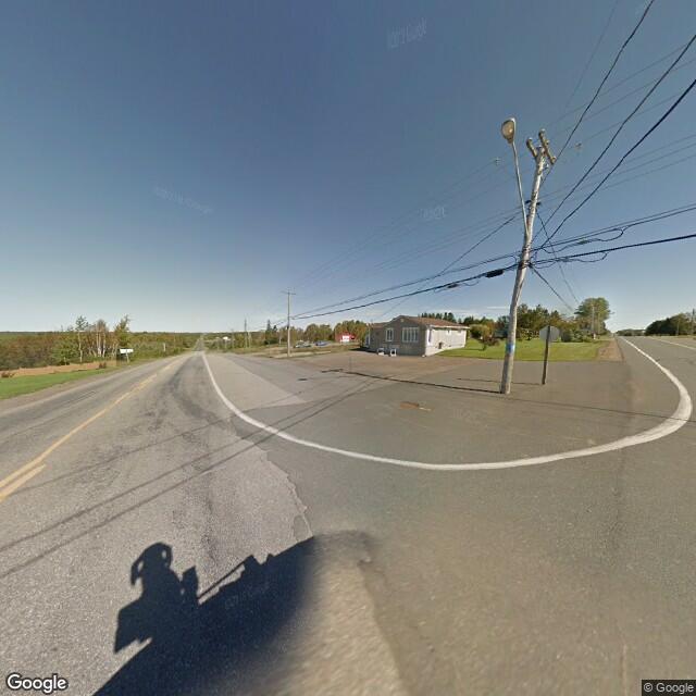 Street view of Duguayville, NB