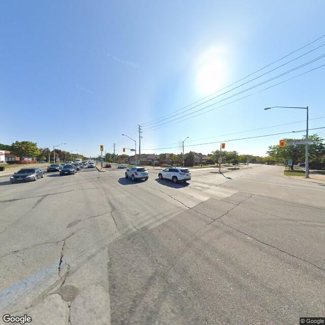 Street view of Maple, ON