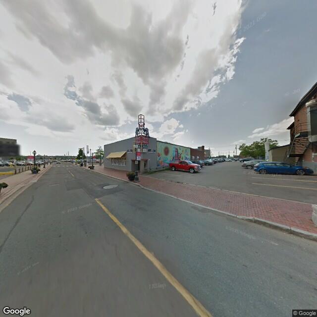 Street view of Moncton