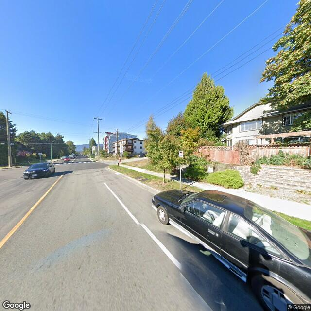 Street view of North Vancouver