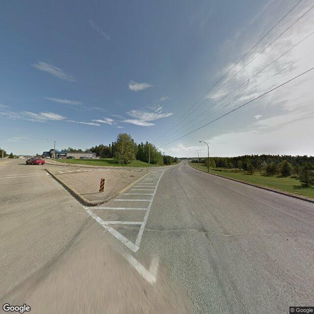Street view of Swan Hills, AB