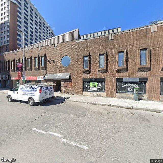 Street view of Toronto, Ottawa or Montreal